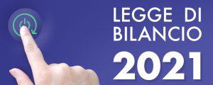 Banner esterno legge di bilancio 2021